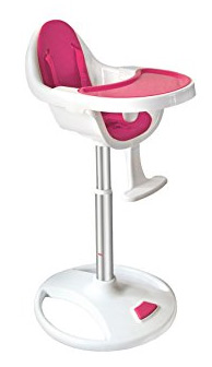 bebe style highchair pink