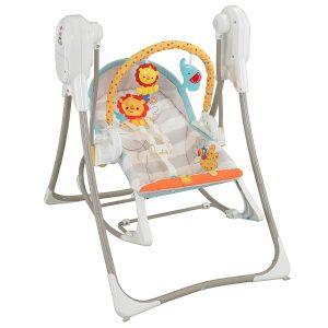 Fisher-Price 3-in-1 Swing-n-Rocker best baby swings and seats