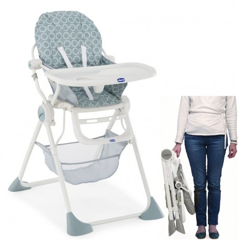 chicco pocket highchair folded