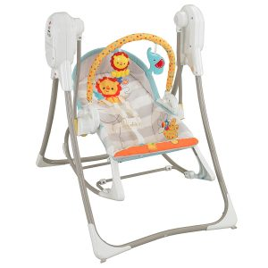 Fisher-Price 3-in-1 Swing-n-Rocker best baby swings and seats