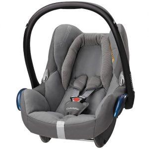 cabriofix concrete grey car seat