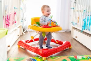 Do baby walkers hinder development
