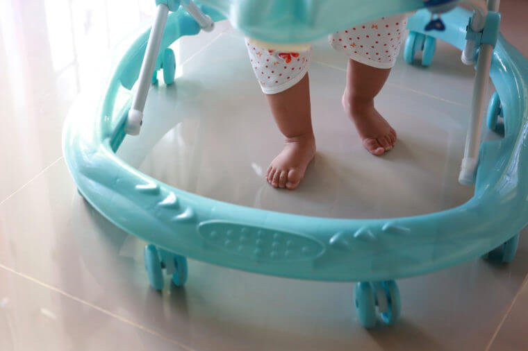Is a baby walker dangerous?